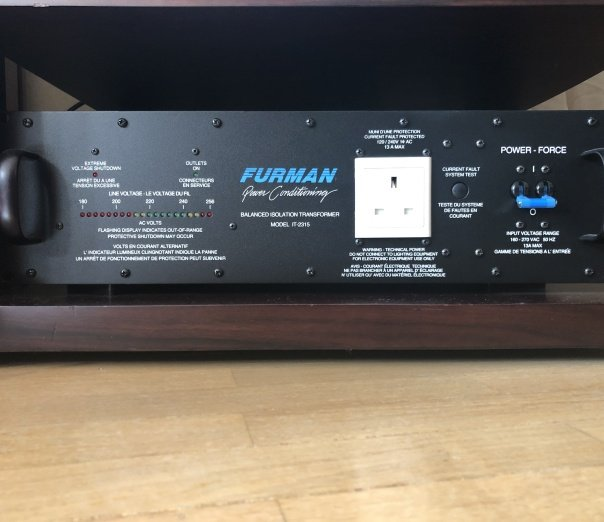 Furman Power Conditionning Transformer IT-2315U c