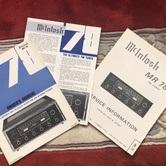 McIntosh MR 78 Tuner books