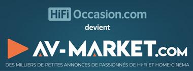 Changement de nom, HiFi-Occasion.com devient AV-Market.com